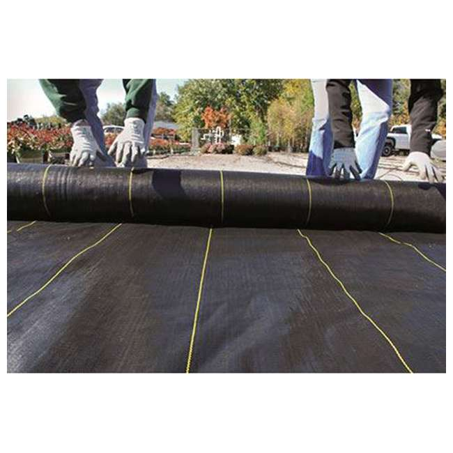 DWT-SB4100 DeWitt Sunbelt Woven Weed Control Garden Landscape Fabric Ground Cover, 4x100 Ft 3