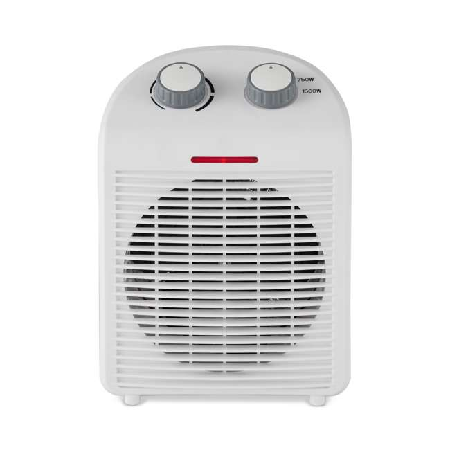 LIM-19-100001-U-A Limina Home Office Personal Electric 1500W Fan Forced Space Heater (Open Box) 2