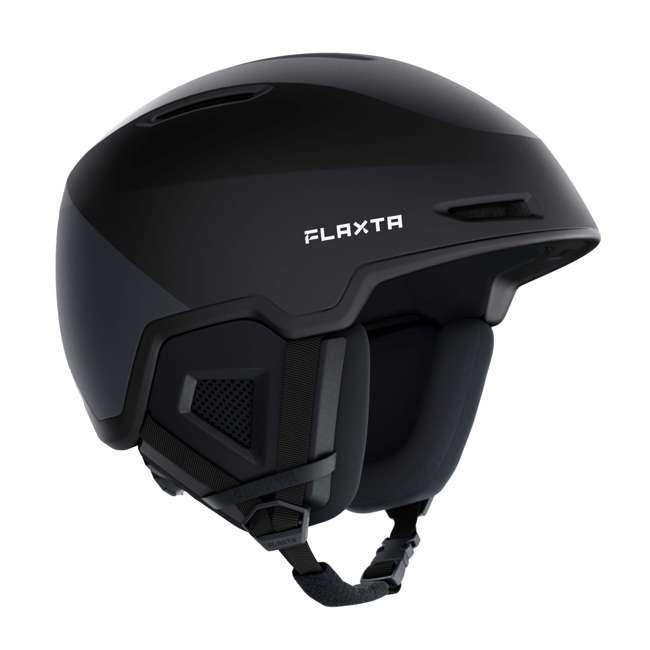 FX901101071ML Flaxta Exalted Protective Ski and Snowboard Full Helmet Medium/Large Size, Black 1