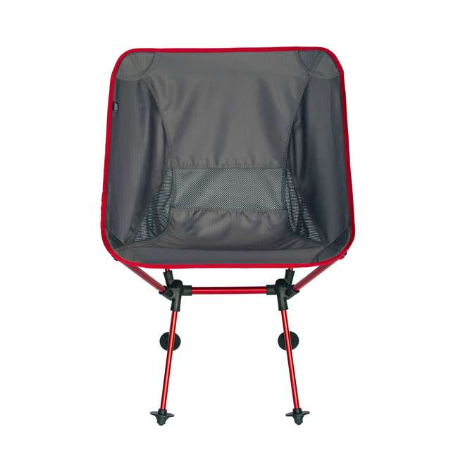 7795R TravelChair Outdoor Portable Lightweight Roo Camping Chair Lounger Seat, Red