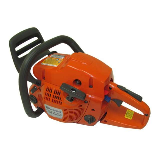HV-CS-966048320 + HV-TOY-522771104 Husqvarna 460 20-Inch 3.62 HP Gas-Powered Chainsaw | 440 Toy Kids Chainsaw 6