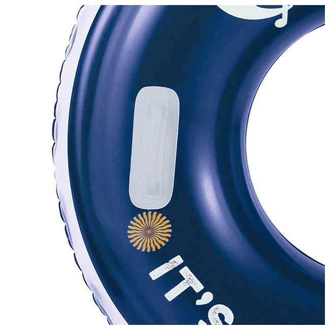 K10423D00167 Summer Waves Corona 31-Inch Inflatable Bottle Cap Swim Tube 5