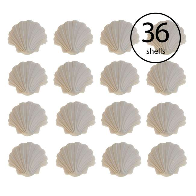 3 x DCPKG12-SS Yard Guard Pool Safety Seashell Deck Creations (36 Pack)