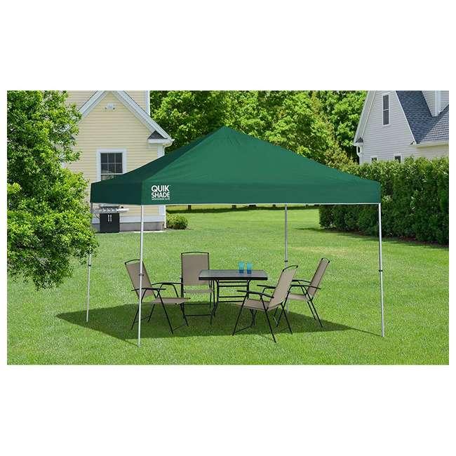 QS-157366DS-U-A Quik Shade Weekender Elite 10 x 10 Ft Pop Up Canopy, Green (Open Box) 1