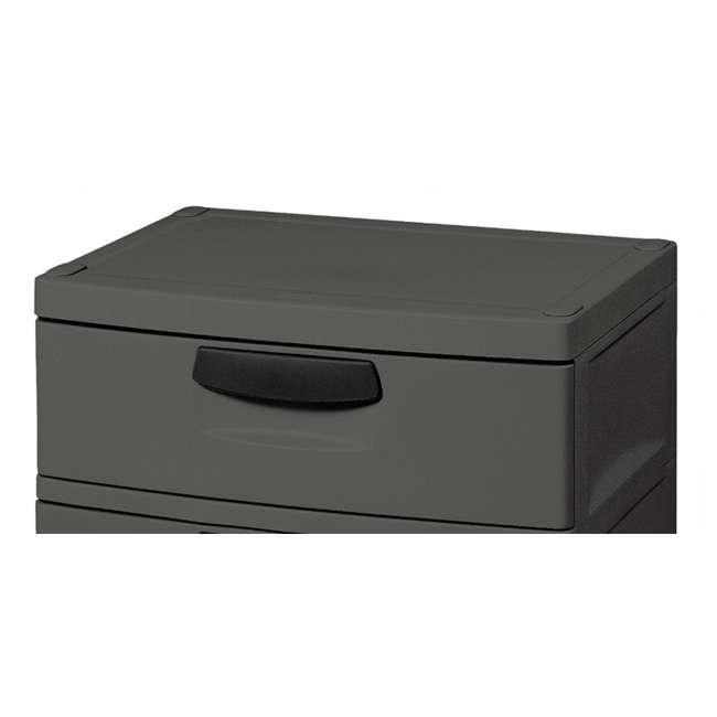 12 x 01743V01 Sterilite 4-Drawer Storage Unit (12 Pack) 2