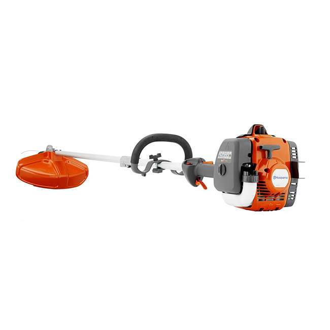 HV-TR-967680501 + HV-TOY-585729102 Husqvarna 129LK Gas Powered Weed Trimmer & Battery Operated Toy Weed Trimmer 1