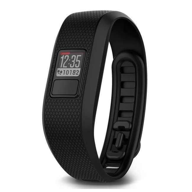 VF33R-REGB Garmin Vivofit 3 Fitness Activity Tracker, Regular Black 3