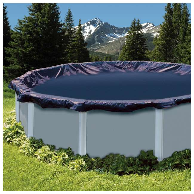 CO915 Swimline 15-Foot Round Above Ground Swimming Pool Leaf Net Top Cover