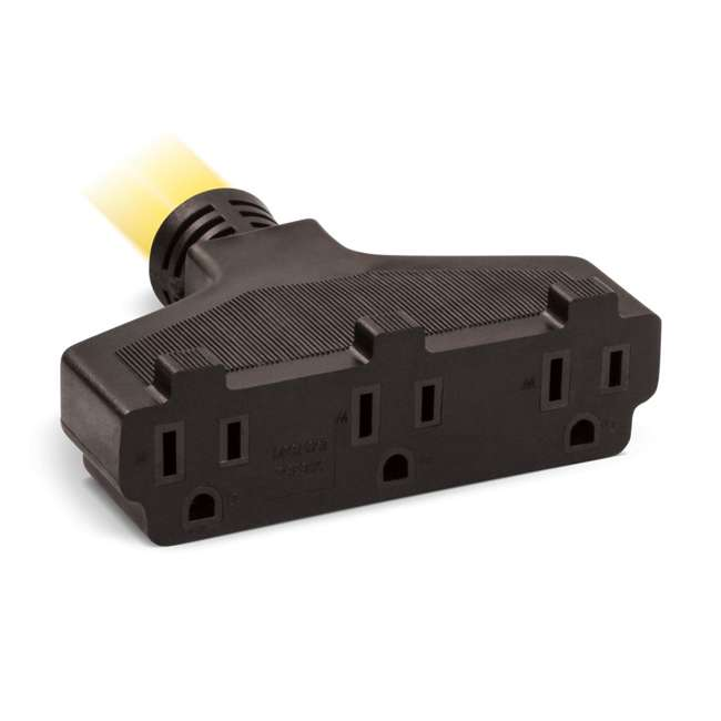 CPE-GN-48034 Champion 48034 30A 125V Generator Power 3750-Watt 25-Foot Extension Cord, Yellow 1