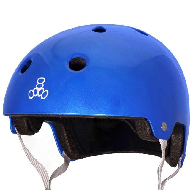 6 x T8-3070 Triple 8 Dual-Certified Skate and Bike Helmet with EPS Liner, Small/Medium (6 Pack) 2