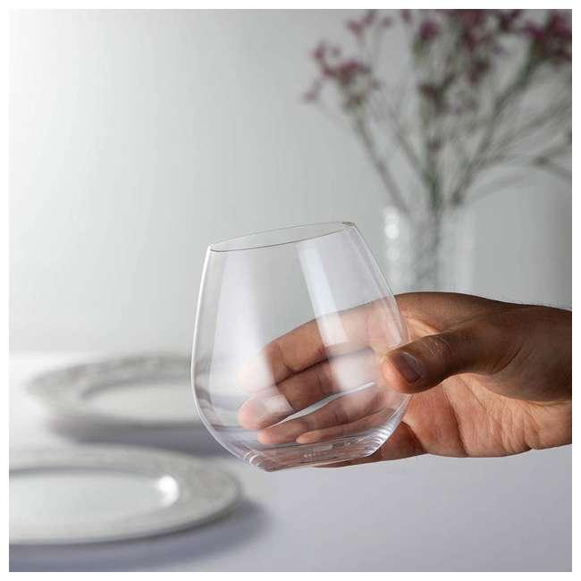 0414/07 Riedel VINUM O Wine Tumbler Nebbiolo Stemless Fine Crystal Glasses, Set of 2 2