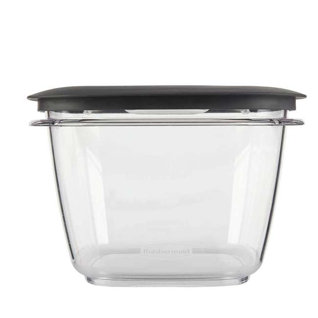 1951296 Rubbermaid Premier Easy Find Lids Clear Storage Containers  3