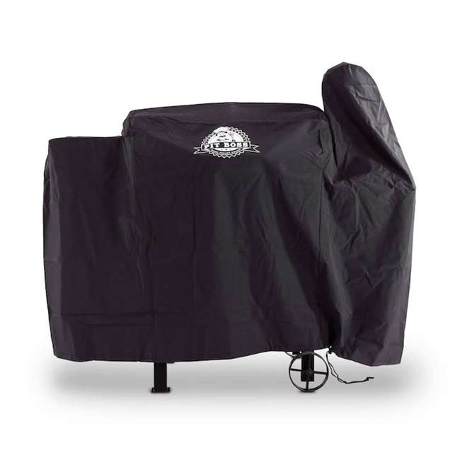 73821 Pit Boss Grills 73821 820 Form Fitting Polyester Deluxe Grill Cover, Black