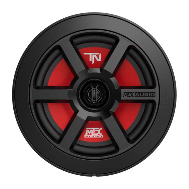 TERMINATOR6 MTX 45-watt 2-Way Polypropylene Coaxial Car Speakers, Pair 1