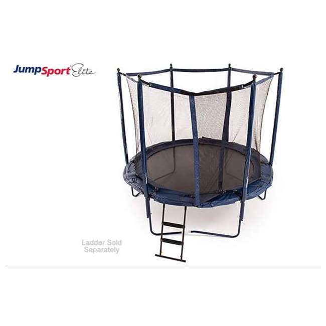UNE-U-11726-01 JumpSport Elite 10 Foot StagedBounce Technology Trampoline System with Enclosure 3