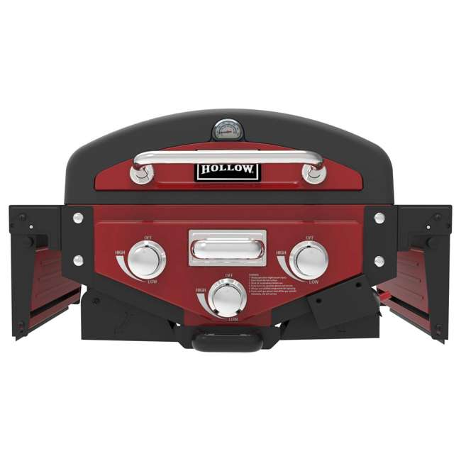 VT280RDS Smoke Hollow Vector Series 2-Burner Portable Gas Grill with Folding Side Table 1