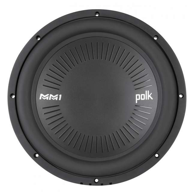 DB1242-SVC Polk Audio 12 Inch Single Coil Marine Subwoofer (2 Pack) 1