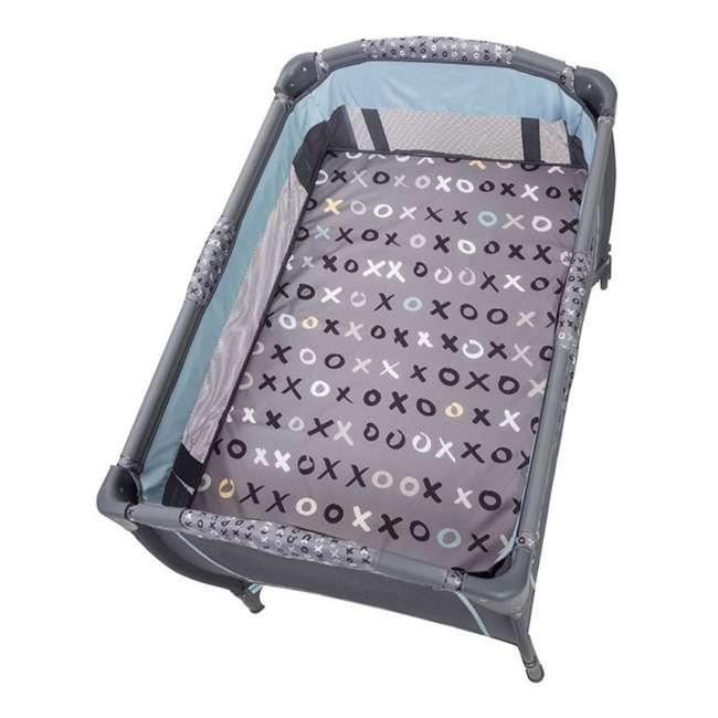 PY86B52B Baby Trend Trend-E Nursery Center Play Yard with Wheels, Starlight Blue (2 Pack) 3