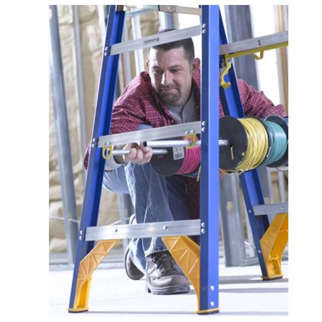 W-OBEL06 Werner 6 ft Fiberglass Ladder - OMA 5