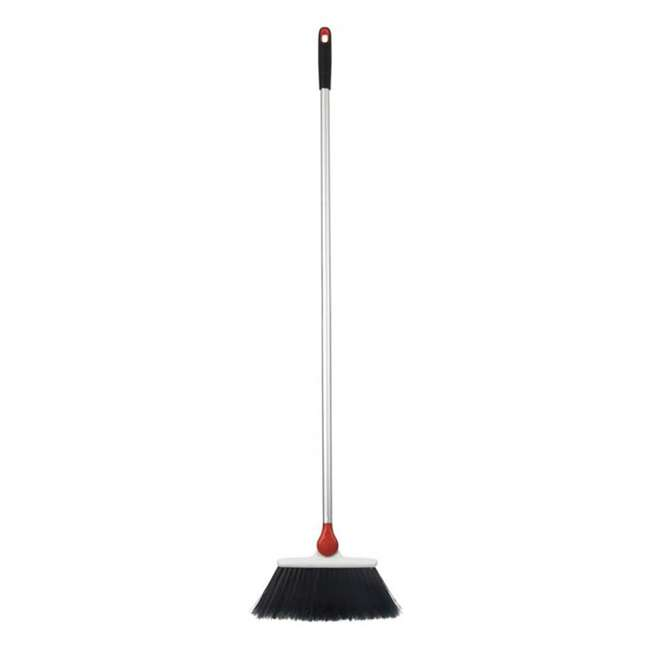 1336580 OXO Good Grips Lightweight Aluminum Frame Any Angle Household Broom, Silver