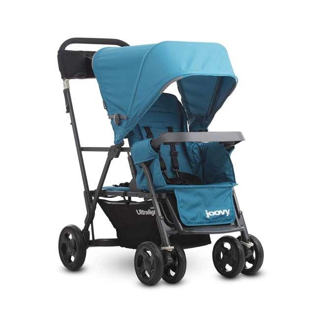 JVY-8110 Joovy Caboose Ultralight Lightweight Canopy Stroller, Turquoise