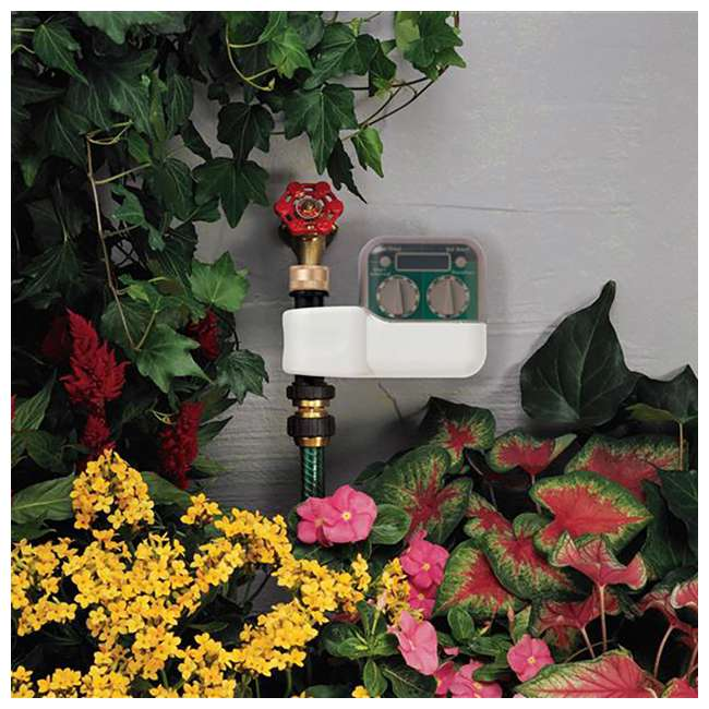 3 x ORBIT-62040 Orbit Irrigation Programmable 2 Dial Digital Hose Faucet Watering Timer (3 Pack) 2