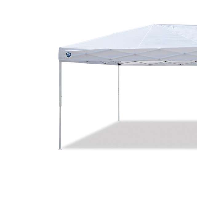 ZS2010EVRWH-U-A Z-Shade 20x10 Ft Instant Canopy Outdoor Patio Shelter, White (Open Box) (2 Pack) 1