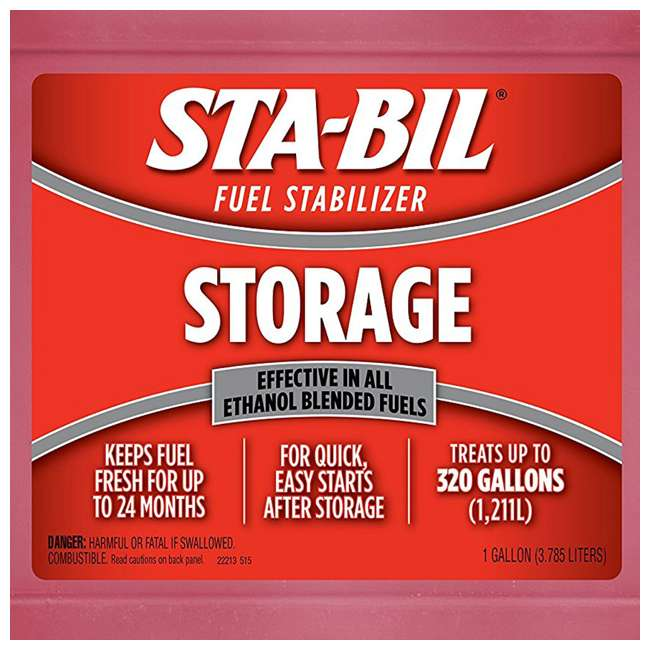 22213 STA-BIL Fuel Stabilizer + 2 Amp Battery Maintainer 5
