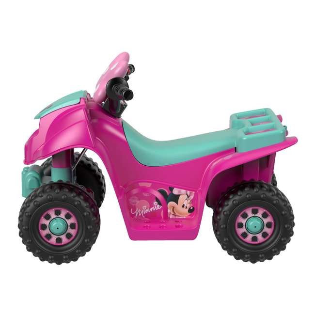 FLK44-U-A Fisher Price Power Wheels Toddler ATV Ride On Minnie Mouse Lil Quad (Open Box) 1