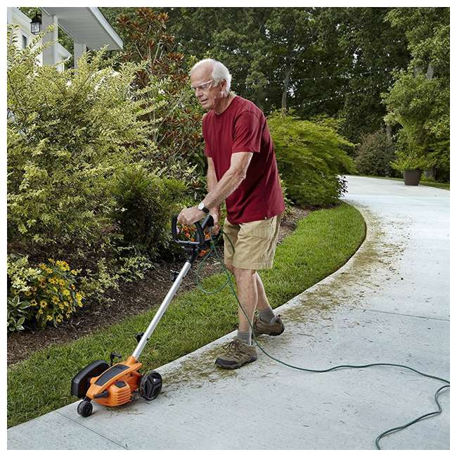 WG896 Worx 12-Amp 7.5-Inch Electric Lawn Edger and Trencher 4