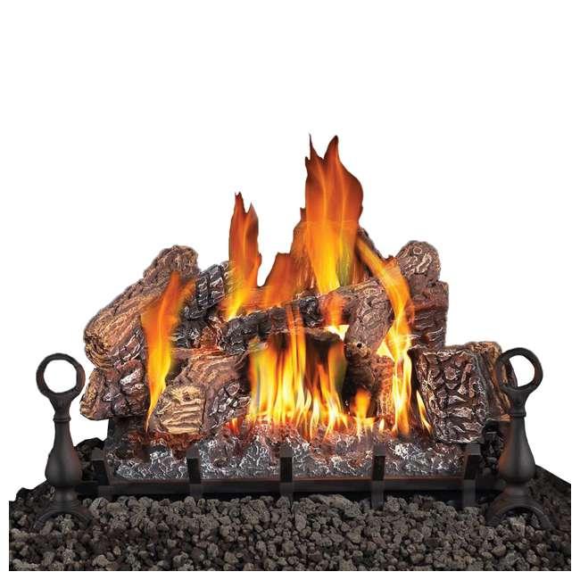 GL30NE Fiberglow 30-Inch Vented Logs for Gas Fireplace