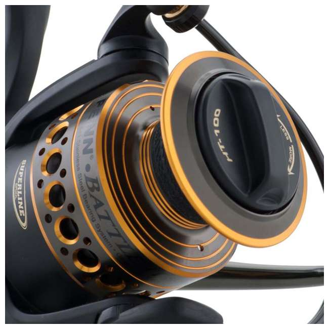 BTLII6000 Penn BTLII6000 Battle II HT100 Carbon Fiber Saltwater Fish Spinning Fishing Reel 4