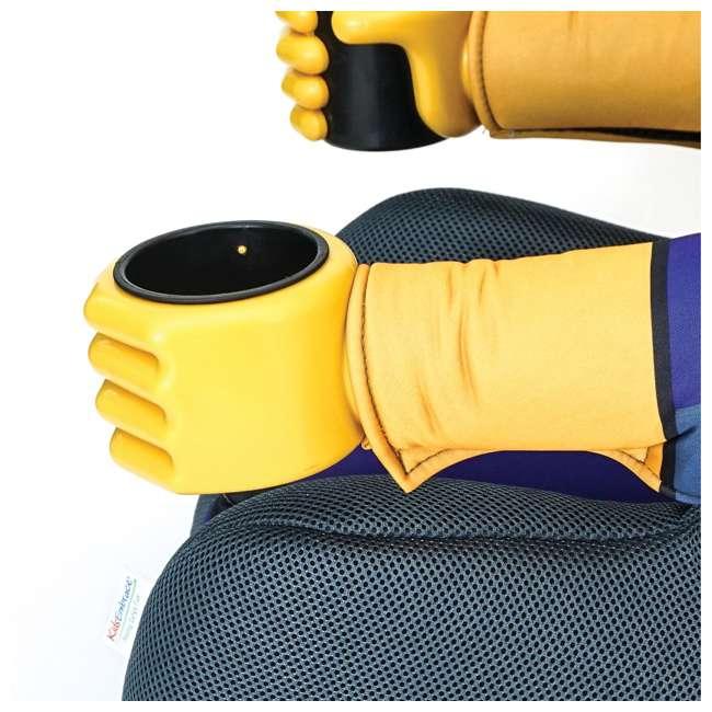 KE-3001BTG Kids Embrace Combination 2 in 1 Booster Forward Facing Car Seat, DC BatGirl 7