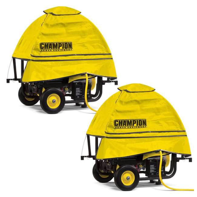 CPE-AC-100376 Champion Storm Shield Severe Weather Generator Cover (2 Pack)