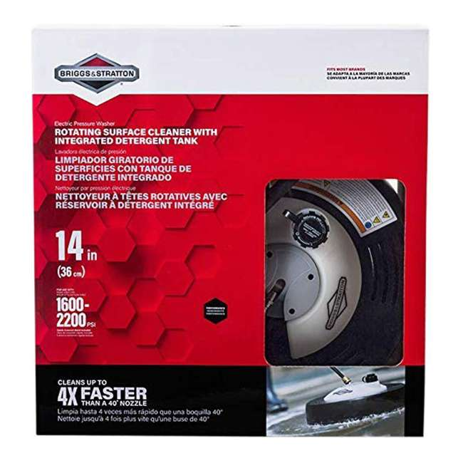 SURFACE-CLEANER-6337 Briggs & Stratton 6337 Rotating Surface Cleaner with Built In Detergent Tank 4
