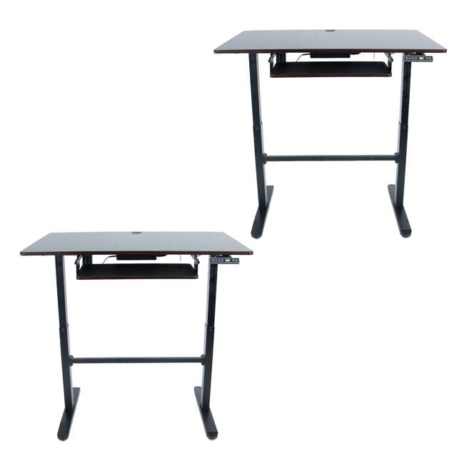 XAFD-A1 xec-FIT Adjustable Motorized Sit to Stand Standing Desk (2 Pack)