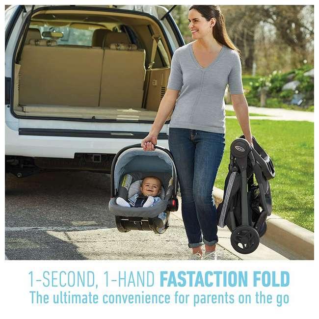 2082773 Graco FastAction SE Stroller w/ SnugRide 30 LX Infant Car Seat Travel System 2