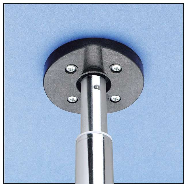 3472-28-11-52-36 Rev-A-Shelf Value Line Kidney Shape Revolving 2 Shelf Corner Lazy Susan, White 1