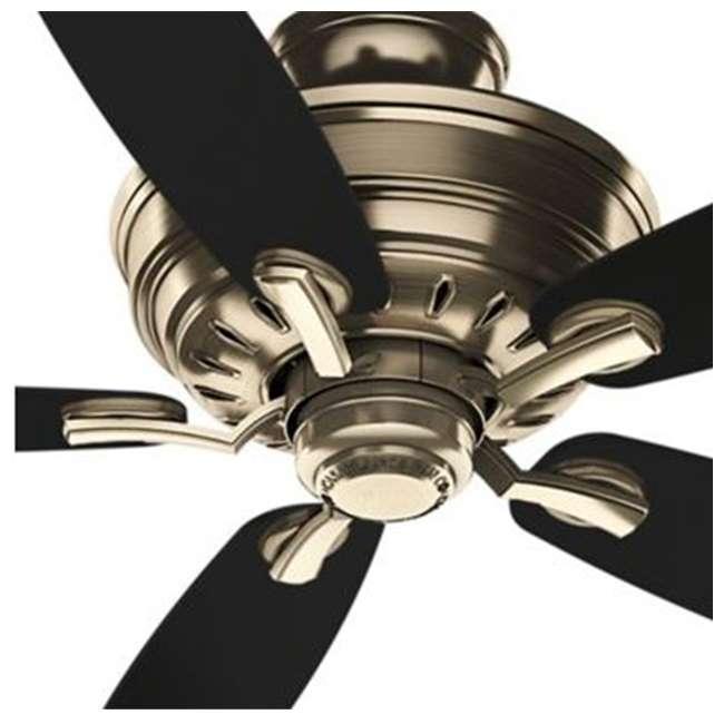 54119 Casablanca 54119 Adelaide 52 Inch Antique Brass Ceiling Fan w/ 5 Mahogany Blades 2