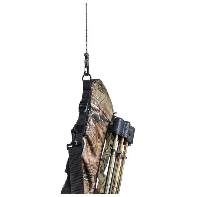 """AC-25010 Allen Company 25010 35"""" Padded Bowhunting Compound Bow Sling, Realtree AP Camo 2"""