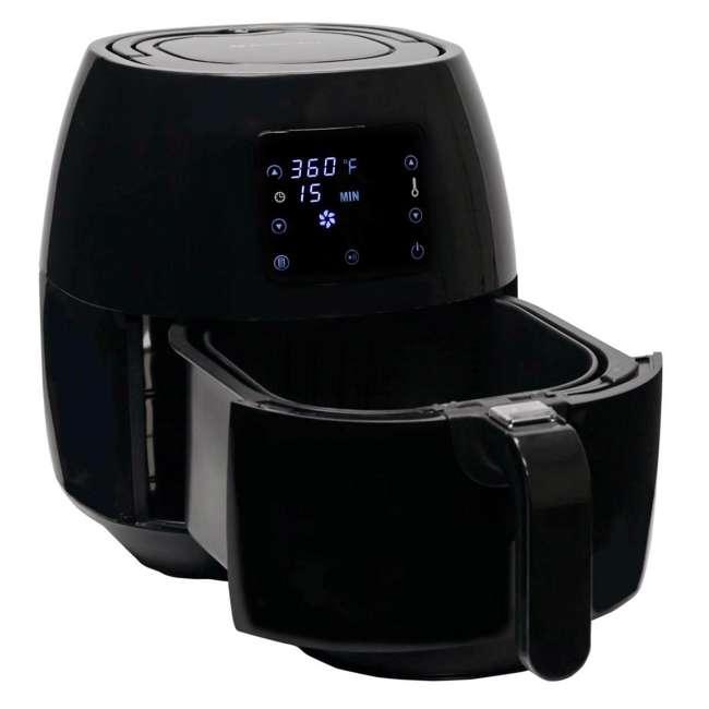 AB-AIRFRYER230B Avalon Bay Air Fryer Digital Display Stainless Steel Healthy Kitchen Appliance 8