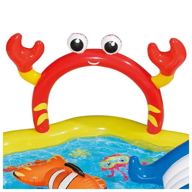 KA0047000167 + KA0040000167 Summer Waves Jungle Animal and Under the Sea Kiddie Pools 8