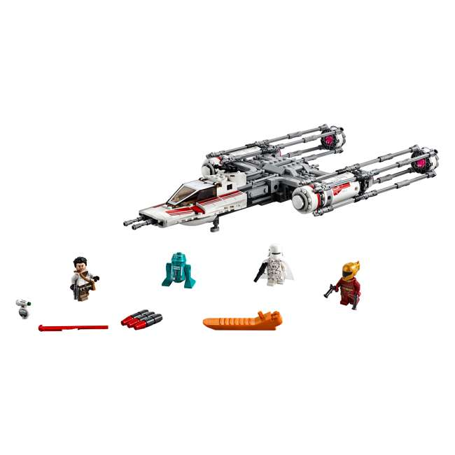 6251743 LEGO 75249 Resistance Y-Wing Starfighter Block Building Kit w/ 5 Minifigures