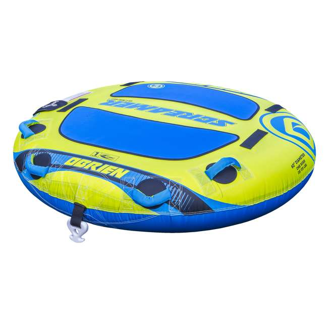 2191504-MW O'Brien Watersports Screamer 60 Inch Towable Tube with Quick Connect System 1