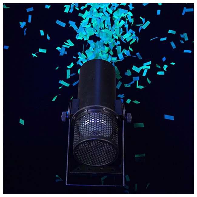 FUNFETTI-SHOT Chauvet DJ Pro Confetti Launcher with Remote (2 Pack) 8