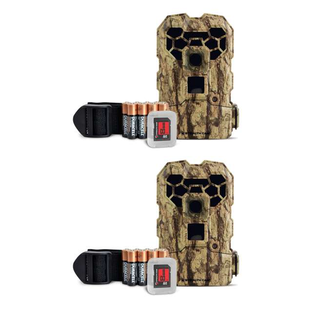 STC-QS24NGK Stealth Cam QS24NGK 12MP HD Video Game Trail Camera (2 Pack)