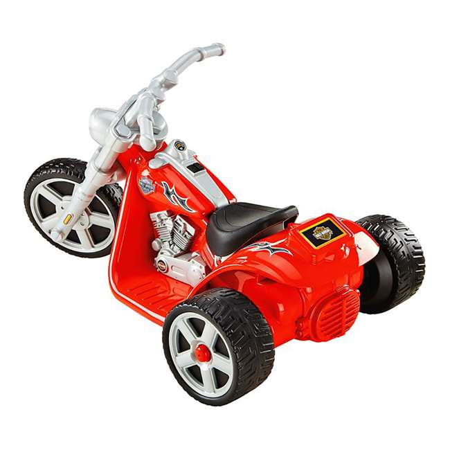 Fisher price power wheels harley davidson rocker for Fisher price motorized cars