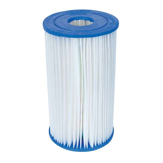 58095E-BW Bestway Swimming Pool Filter Replacement Cartridge Type IV / B  (2 Pack)