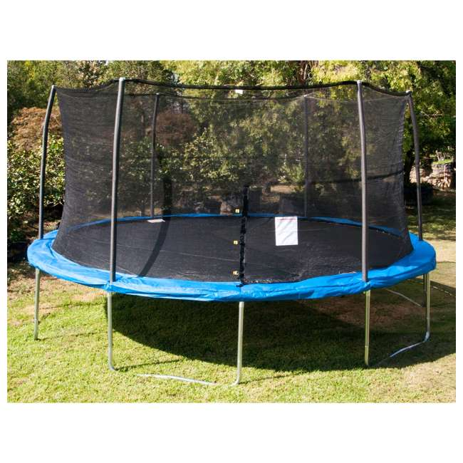 JumpKing 15 Foot Trampoline And XDP Recreation Ground