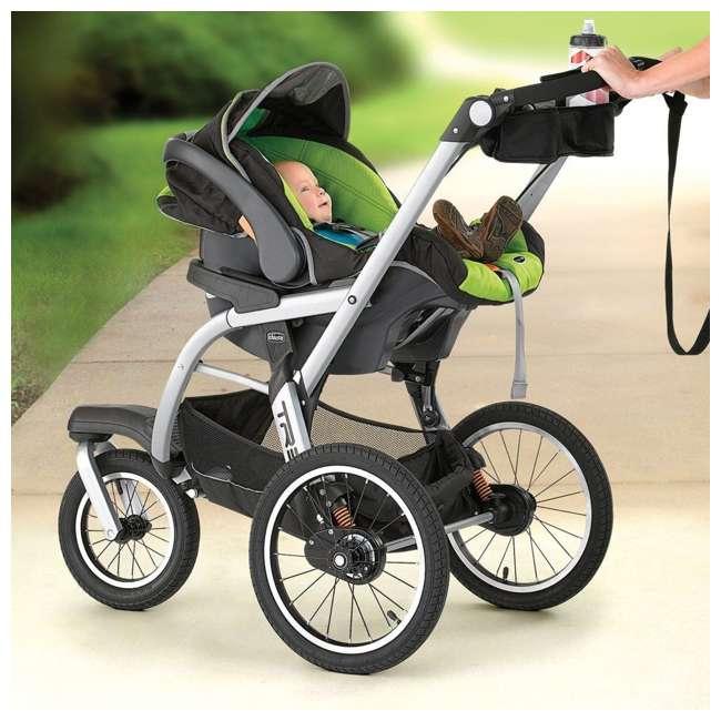 CHI-0707910384-OB Chicco TRE Lightweight Jogging Stroller, Titan (Open Box) 1